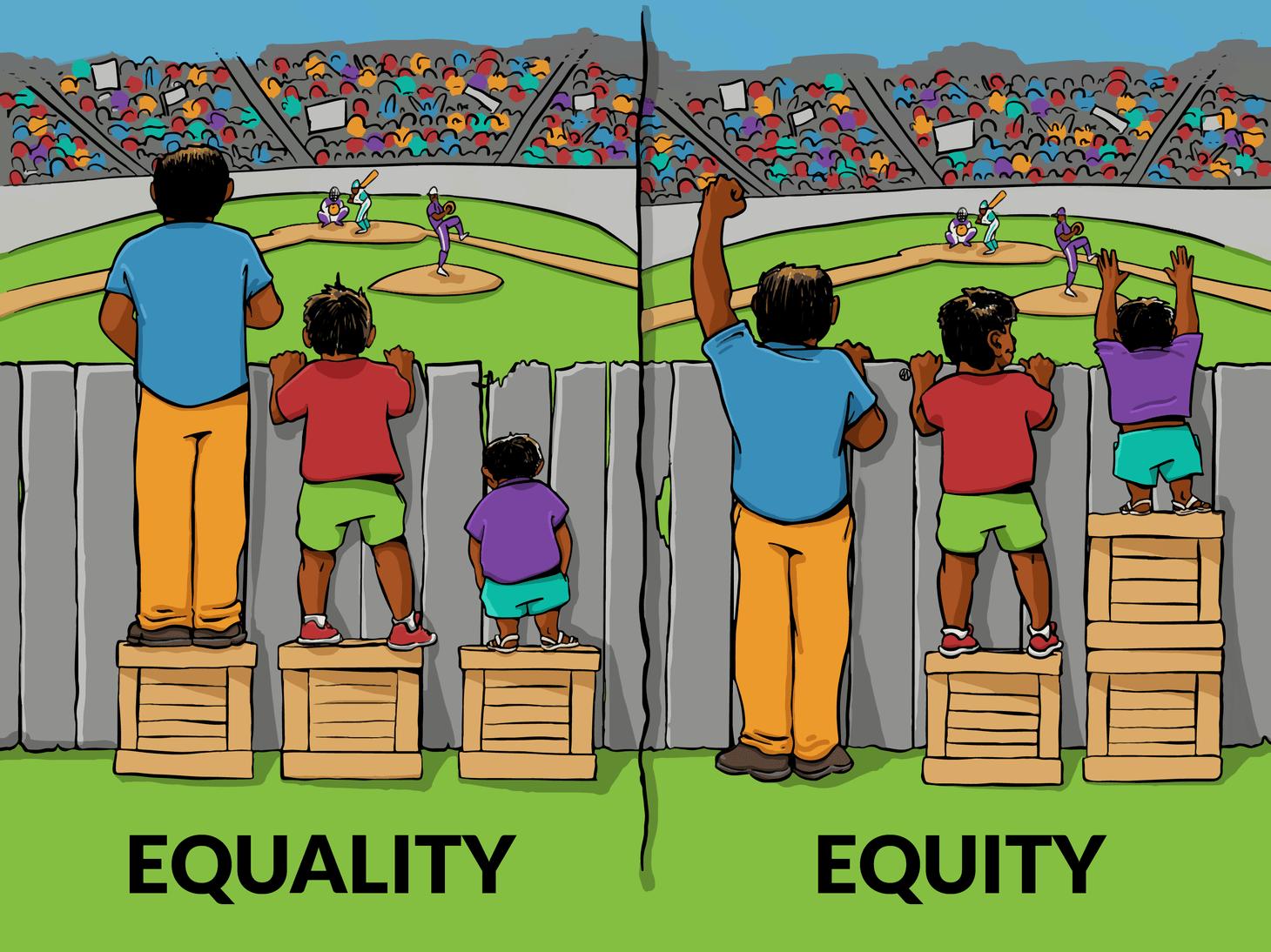 Égalité des genres vs équité des genres