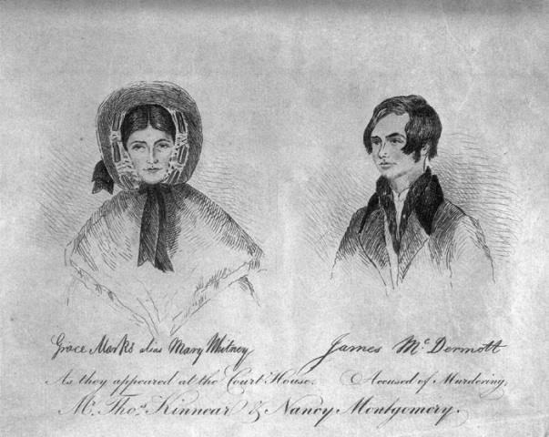 Grace Marks and James McDermott
