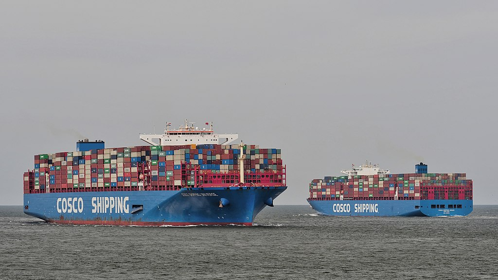 COSCO Container Ships, 2019