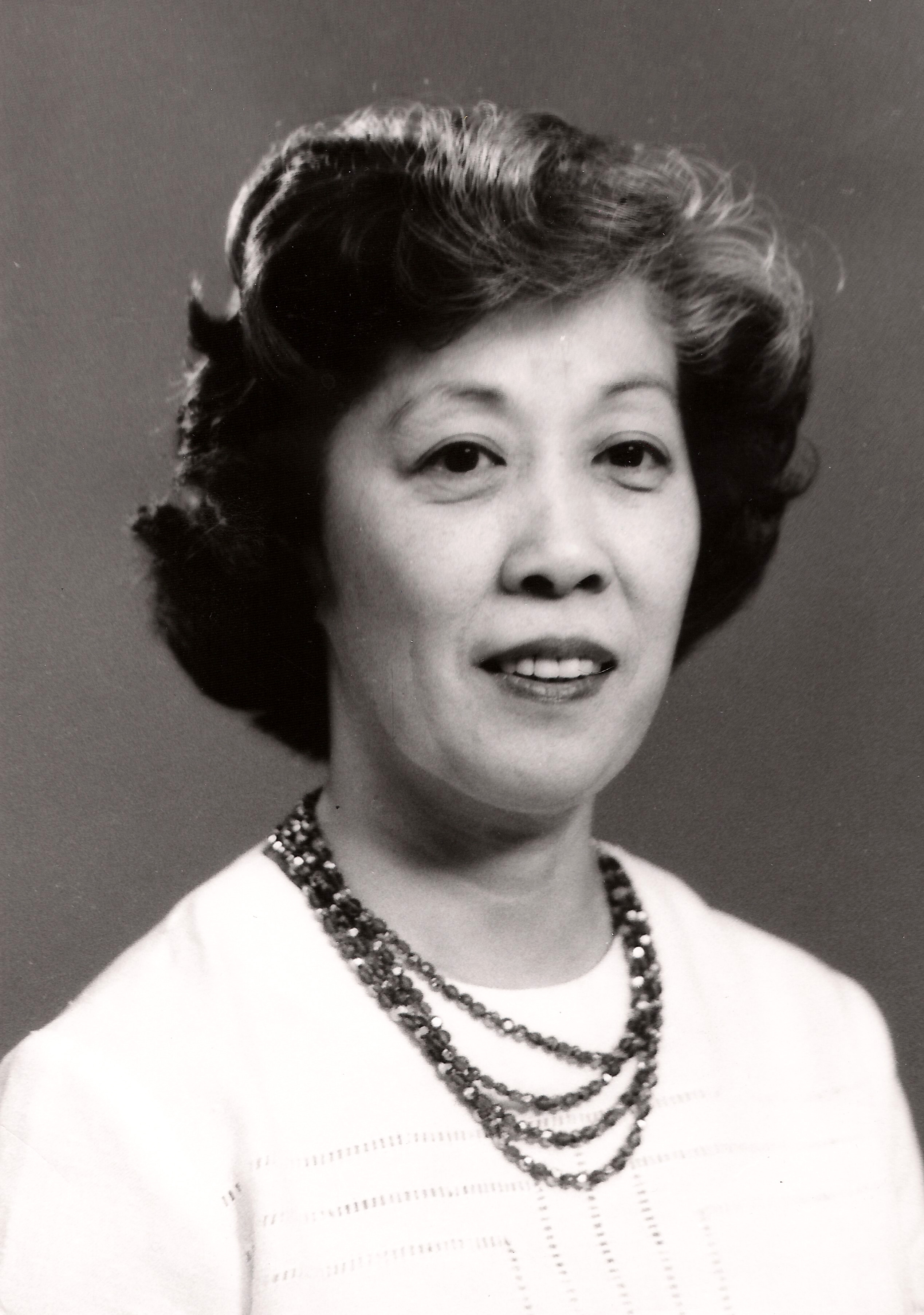 Photographic portrait of Irene Uchida
