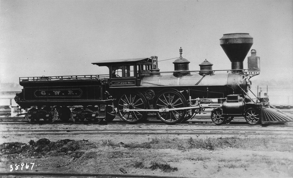 Locomotive no. 103 du Great Western Railway (vers 1864–92)