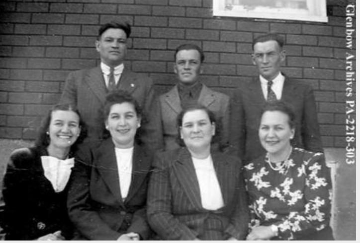 La famille Brady, 1948