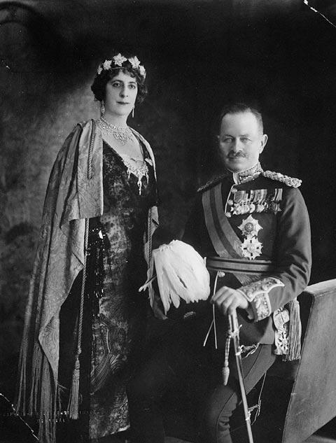 Le vicomte Byng de Vimy et lady Byng