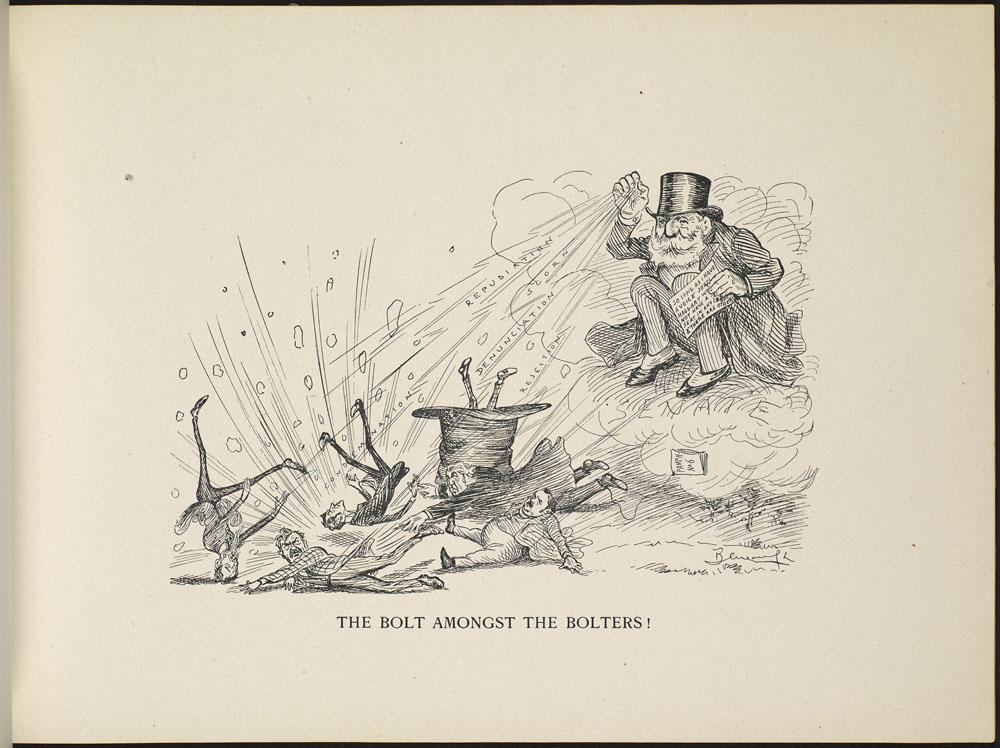 Sir Mackenzie Bowell Cartoon
