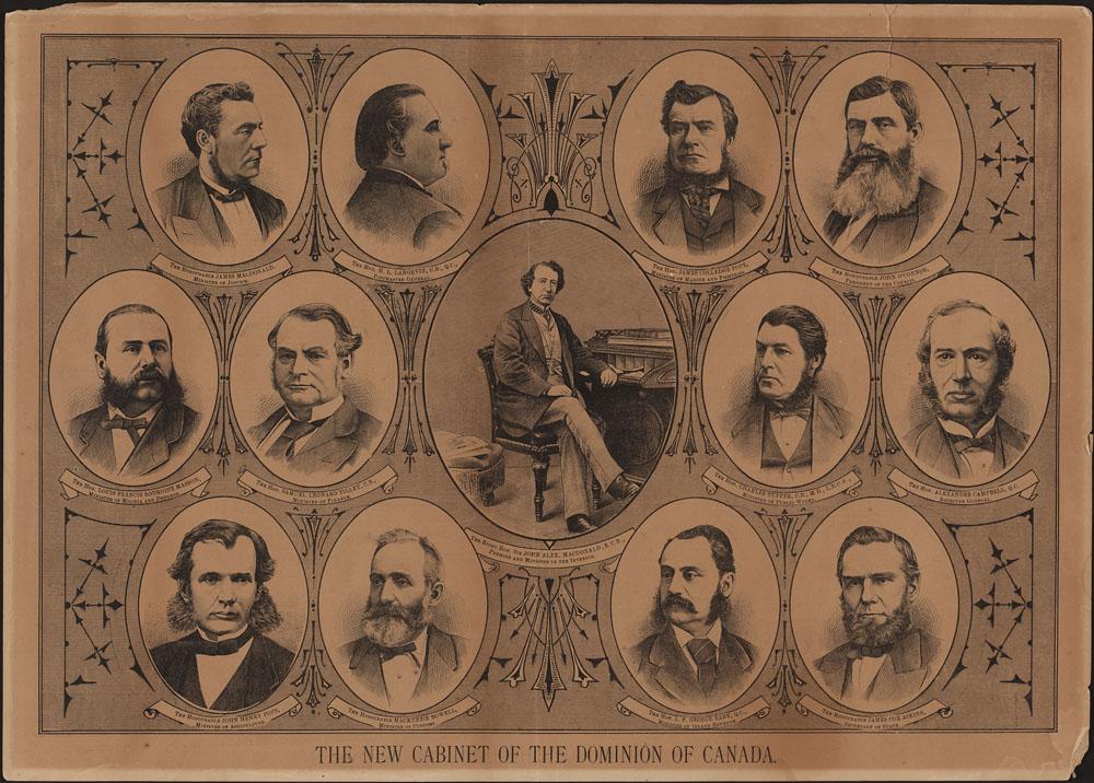 Sir John A Macdonald's Cabinet, 1878