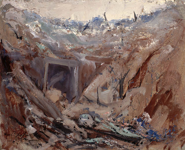 Dug Out on the Somme(1919)