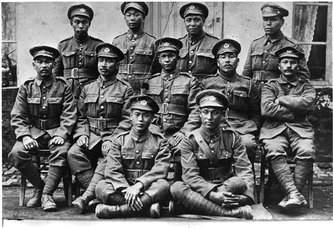 Japanese Canadian Soldiers of the 10th Battalion
