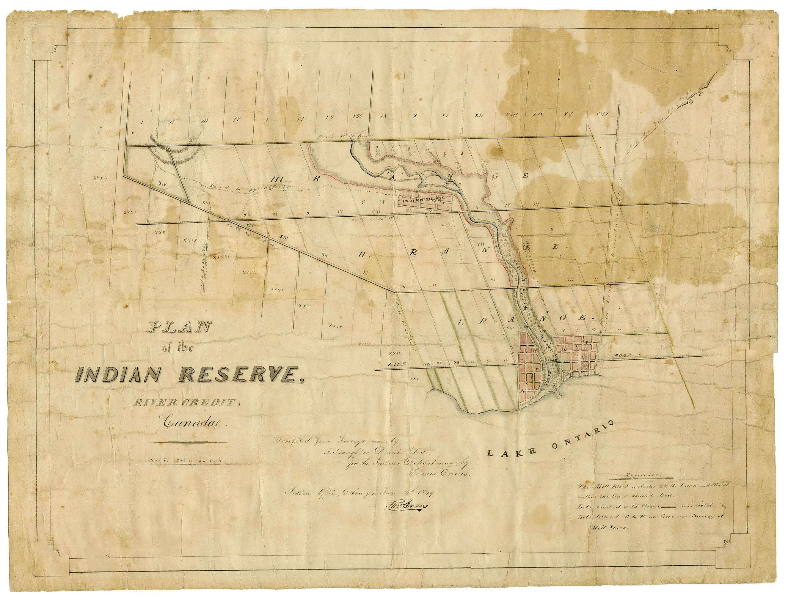 Réserve indienne de la rivière Credit