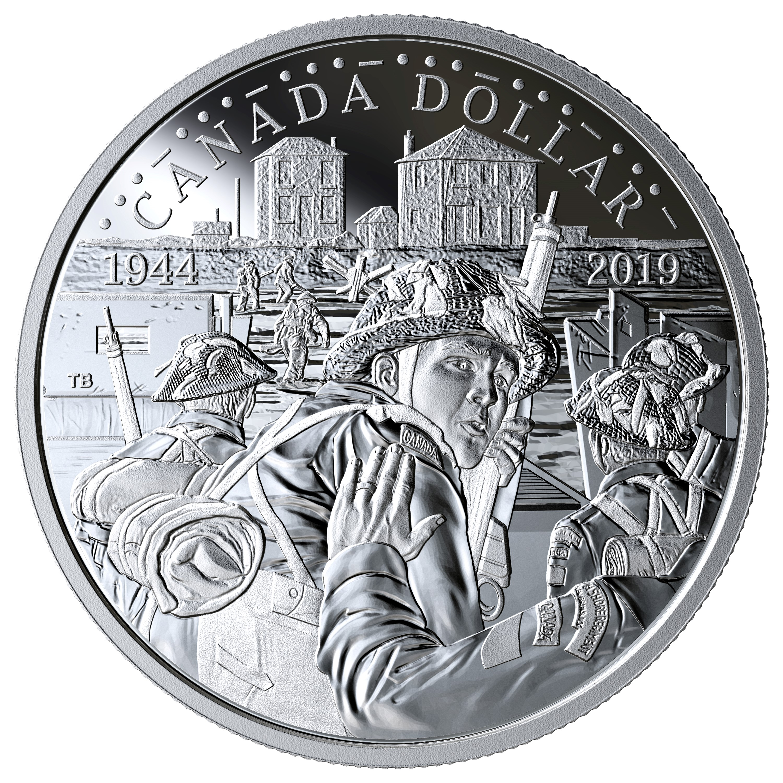 2019 Canadian Silver Dollar
