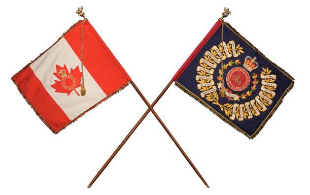 North Shore (New Brunswick) Regimental Colours