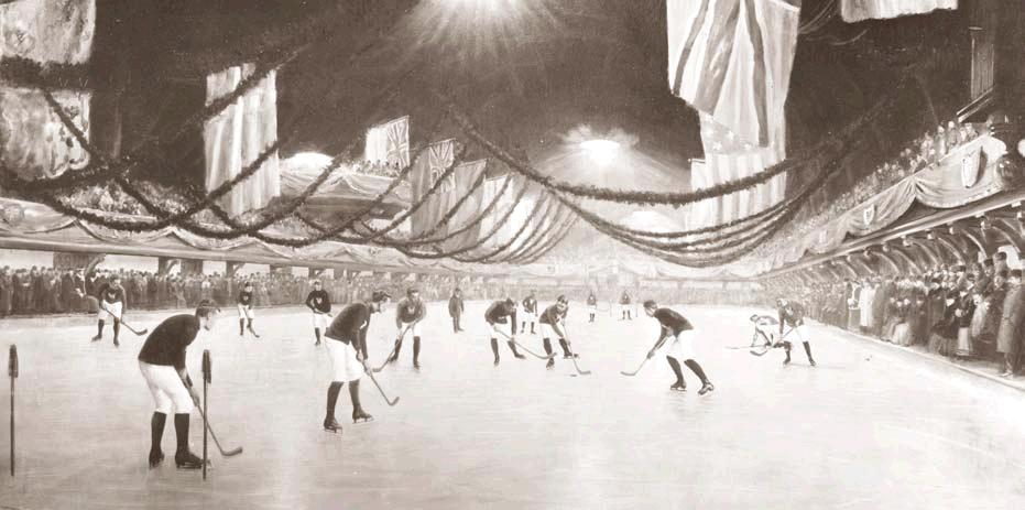 Partie de hockey à Montréal, 1893