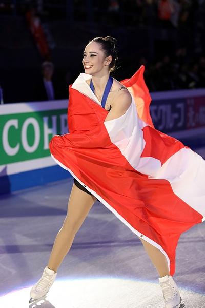 Kaetlyn Osmond,  la championne du monde 2018