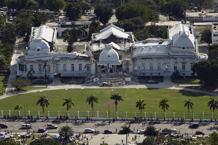 The Haitian National Palace (Presidential Palace)