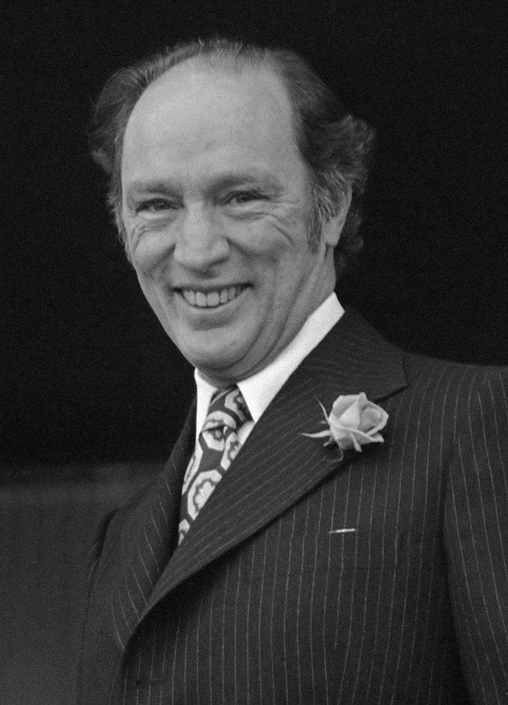 Pierre Trudeau en 1975