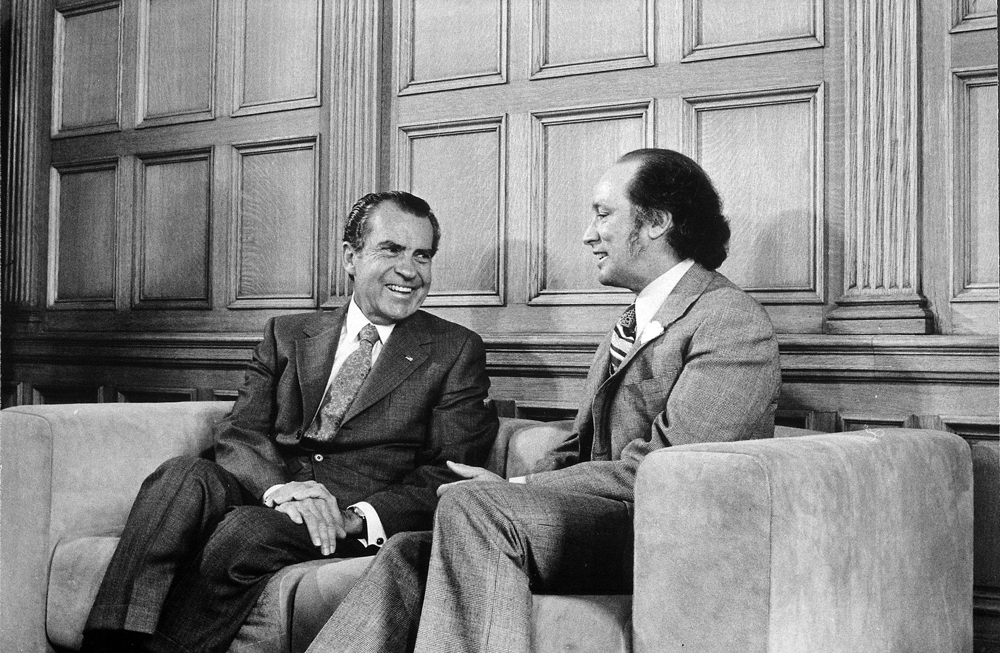 Nixon and Trudeau