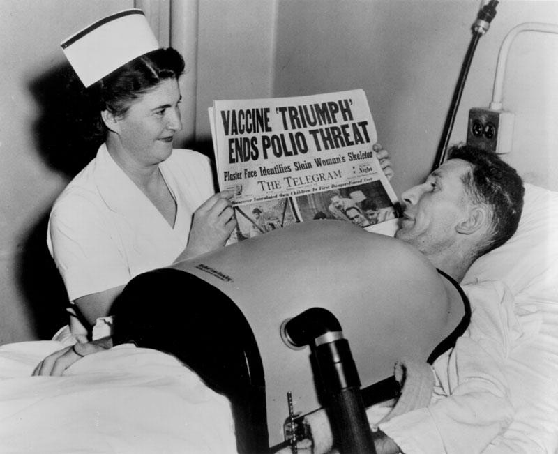 Essai pratique du vaccin contre la polio