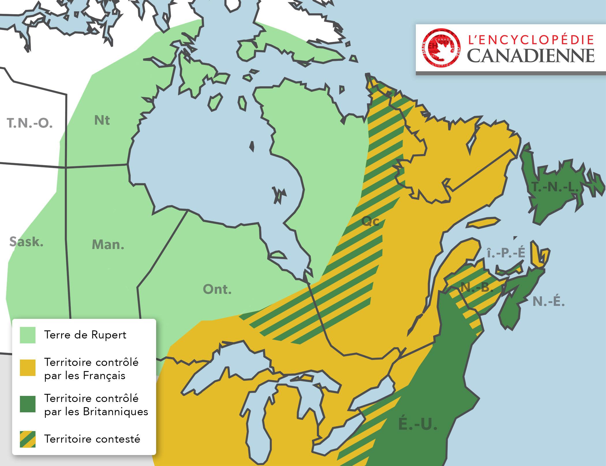 Canada, 1713-1756