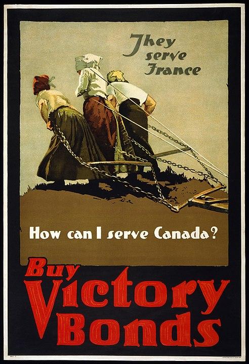 Affiche de propagande de la Première Guerre mondiale