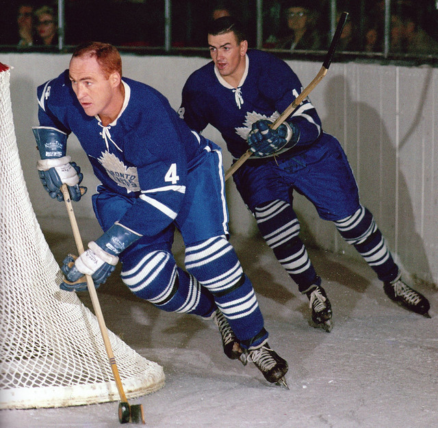 Red Kelly and Dave Keon