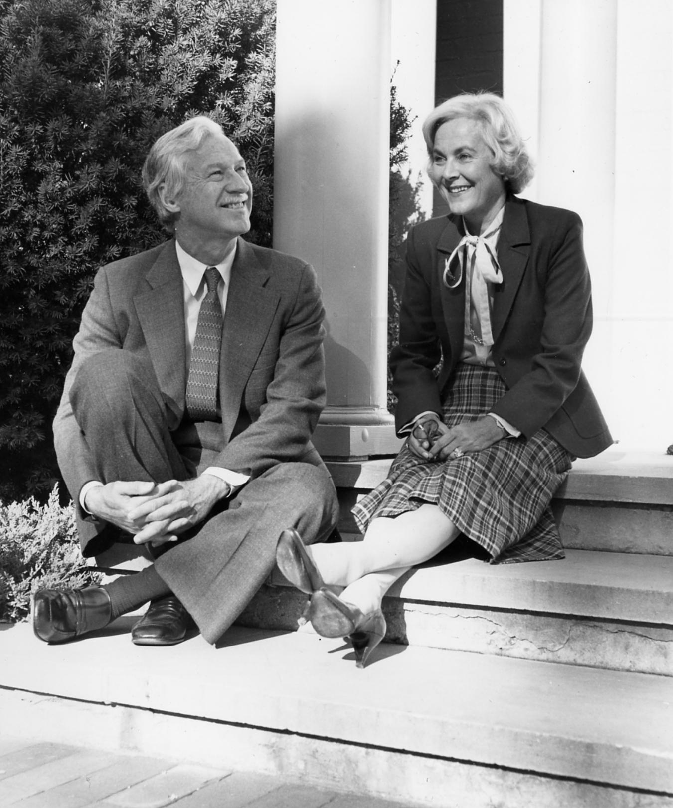Richard M. Ivey et Beryl Nurse