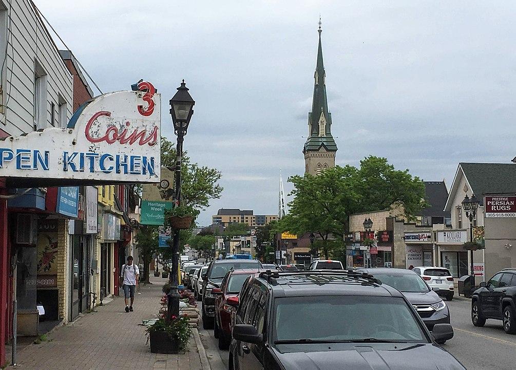 Downtown Richmond Hill, Ontario