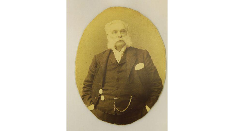 Portrait of Samuel Wilmot