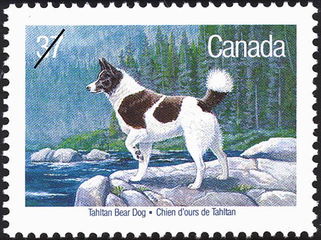 Timbre du chien d'ours de Tahltan