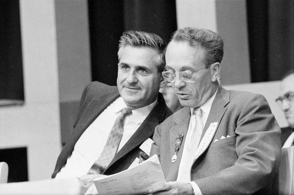 David Lewis et Tommy Douglas