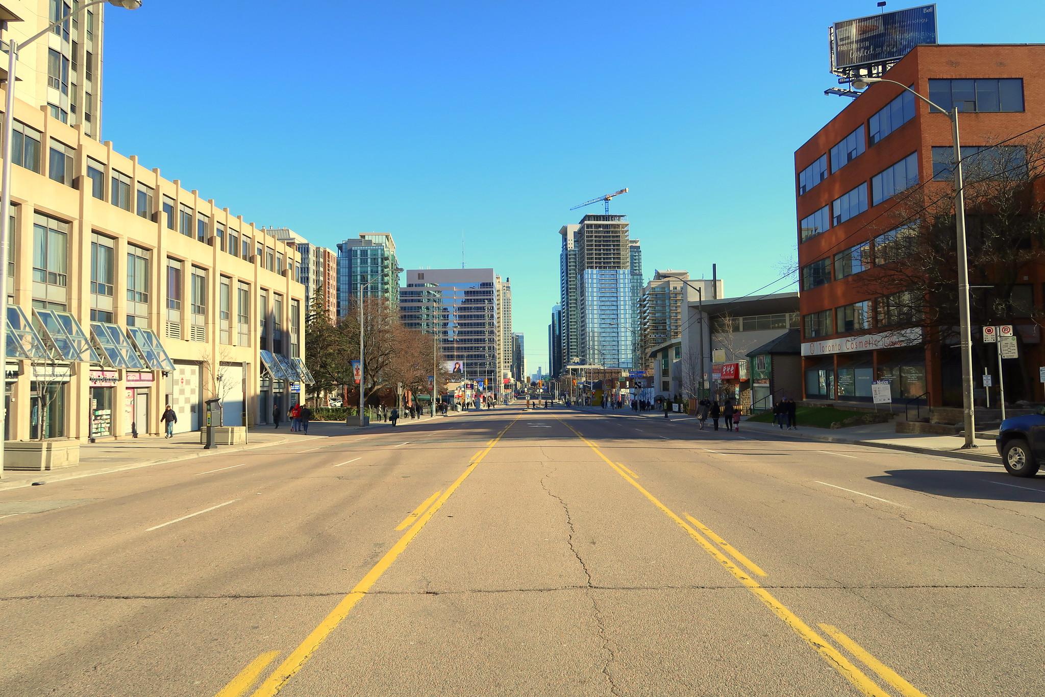 Site of Toronto Van Attack