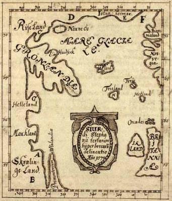 Skálholt map