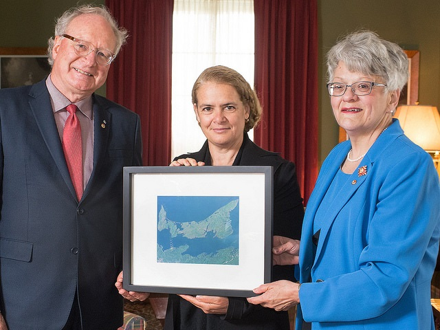 Governor General Julie Payette in PEI