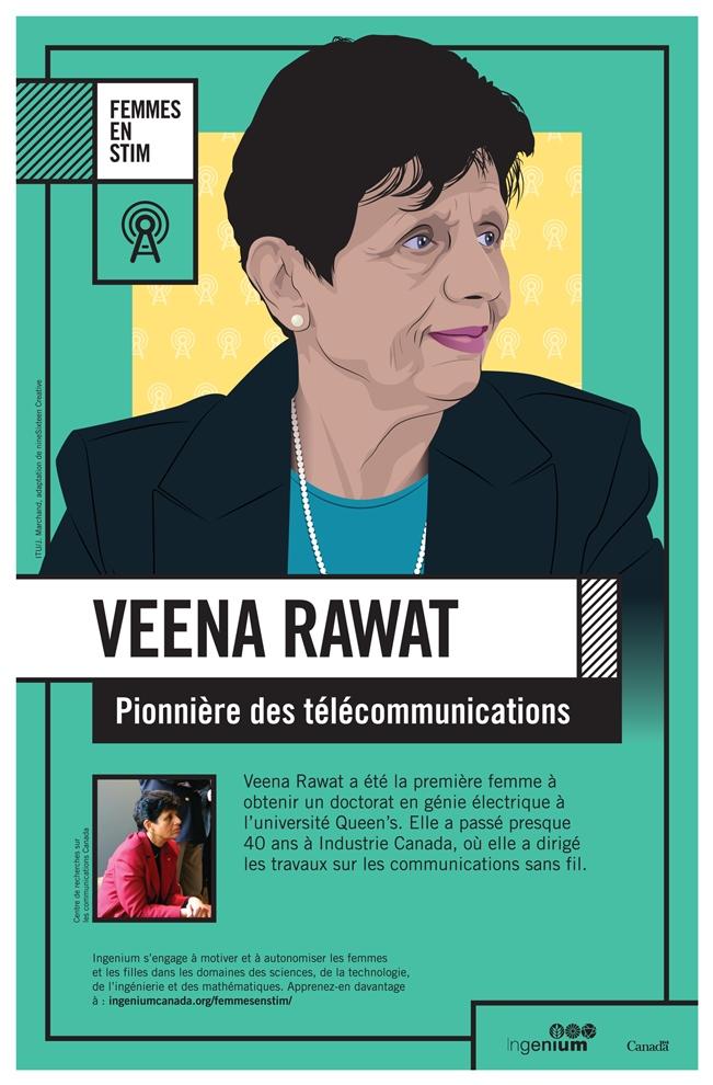 Veena Rawat : Pionnière des télécommunications