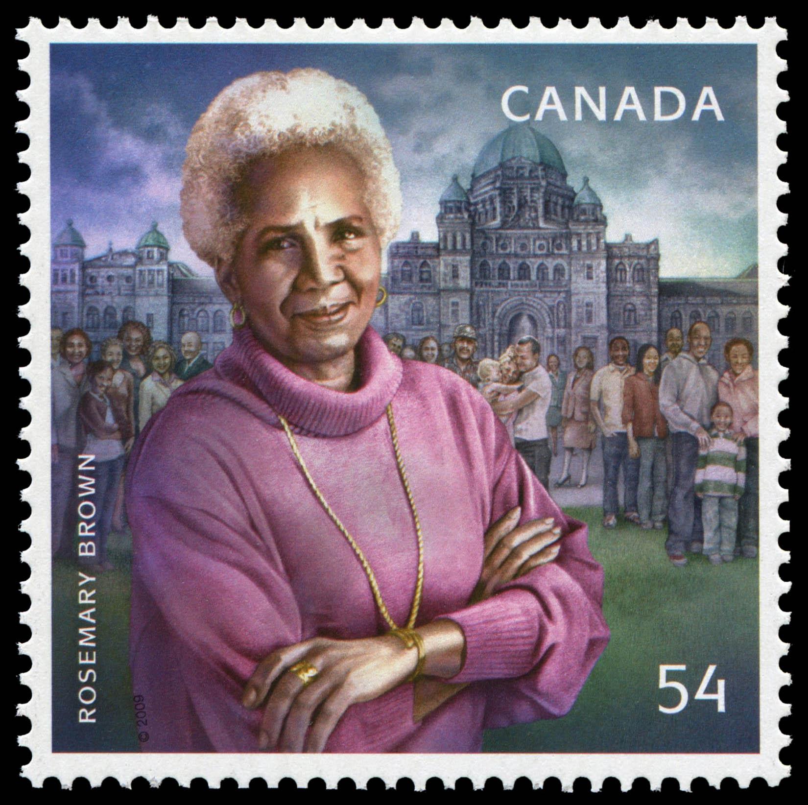 Le timbre de Rosemary Brown