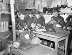 Royal Canadian Navy trainees, Sydney, Nova Scotia, November 1941.