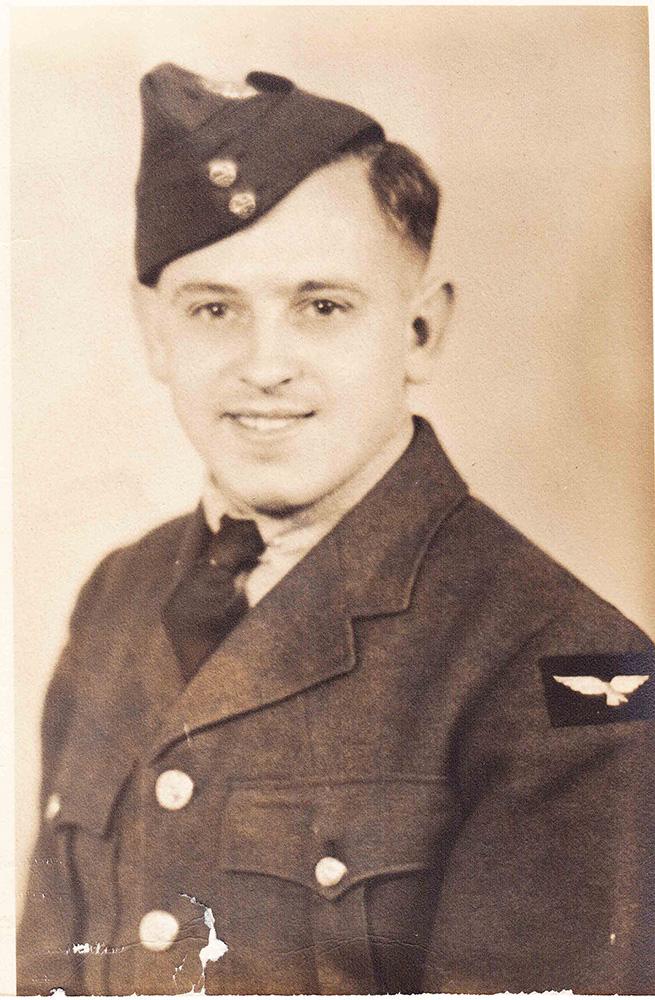 George Burrows in Uniform, 1941.