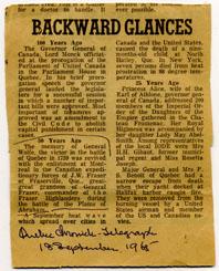 Quebec Chronicle-Telegraph, John William Fraser
