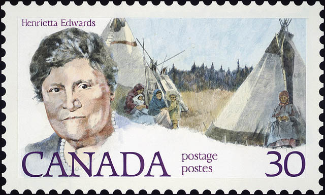 Henrietta Edwards stamp